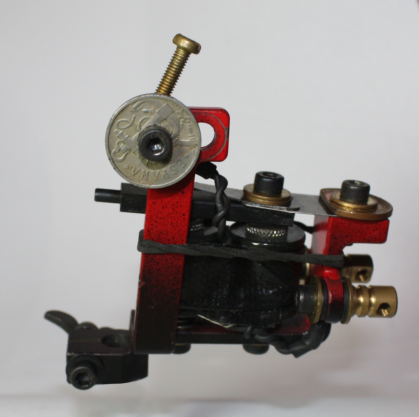 Dart Vaughan Left Handed Tattoo Machine #1 - 2011